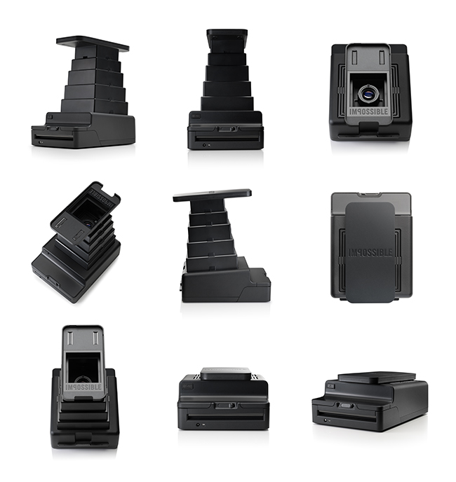 Product images of the Impossible Instant Lab by Lars Brandt Stisen Berlin