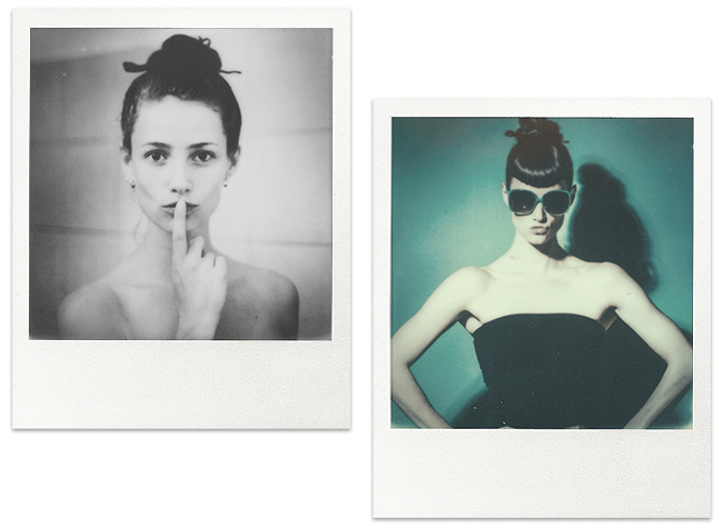 Lifestyle and fashion photography by Lars Brandt Stisen on Impossible 600 instant Polaroid film with Instant Lab