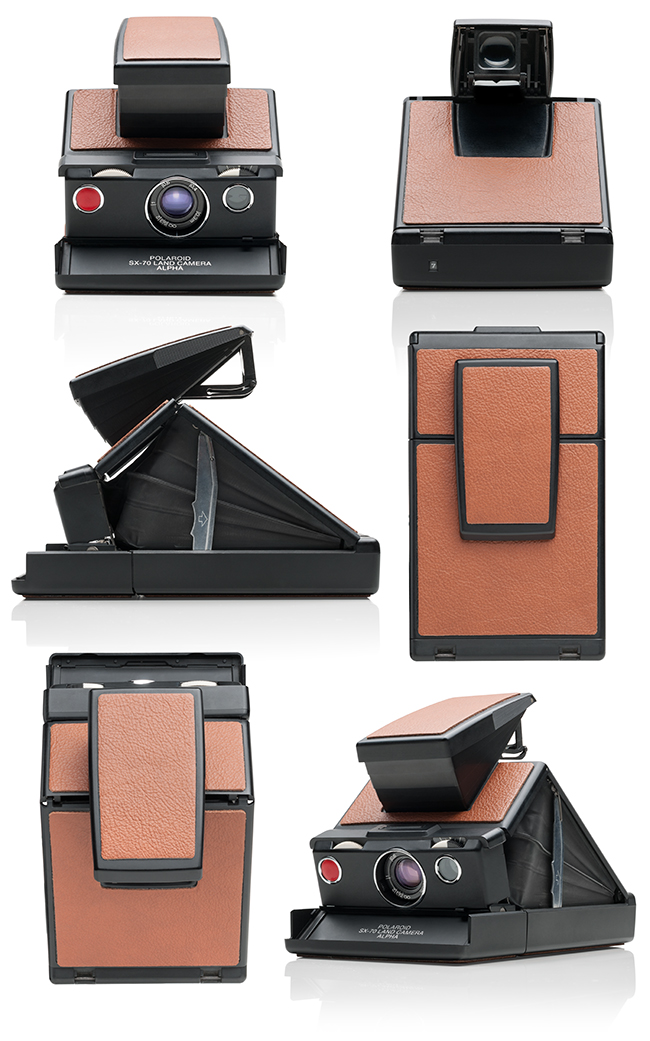 Product photography - Polaroid SX-70 ALPHA instant camera by Lars Brandt Stisen, MADDOCMAN Berlin