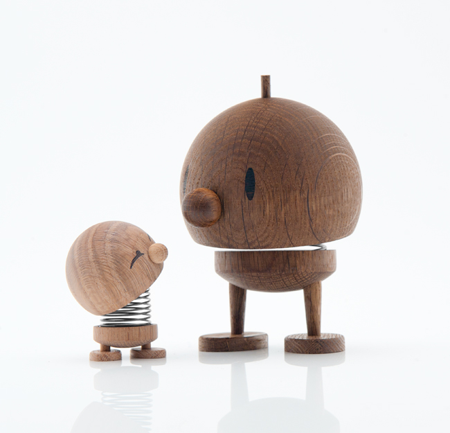 Hoptimist Bimble and Bumble in wood