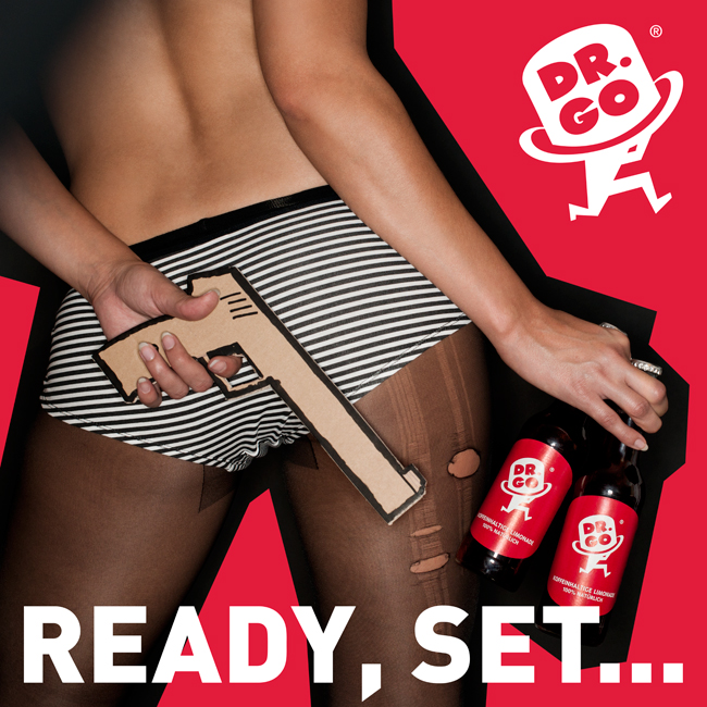 Girls guns and limonade - Beverage advertising campaign Berlin